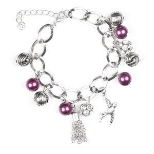 Lady Love Dove - Purple bracelet